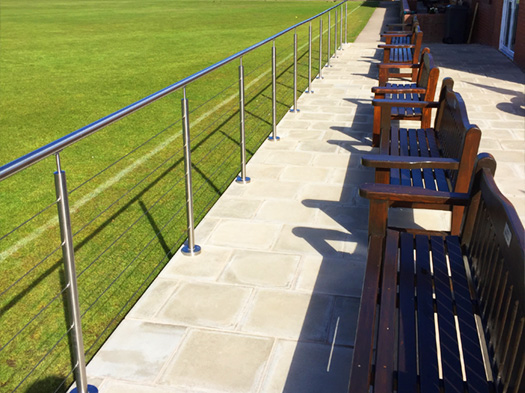SHS Products - Stainless Steel Balustrade - Wire Rope Infills