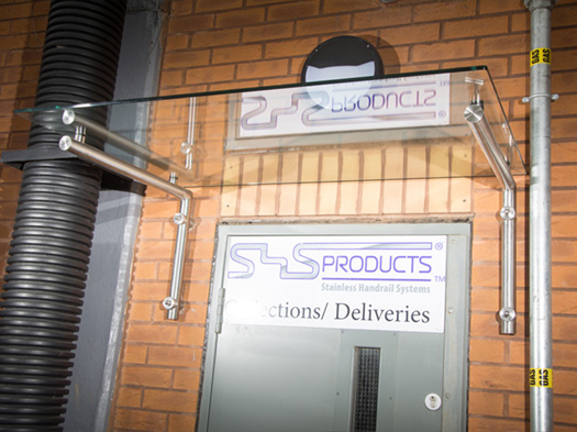 SHS Products - Glass Canopy