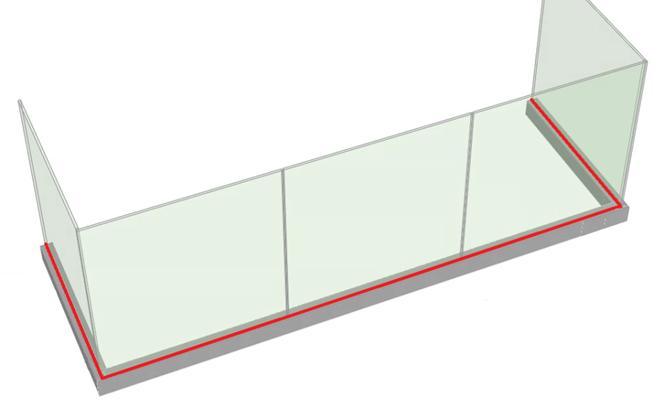 SHS Products - frameless centre line measurement