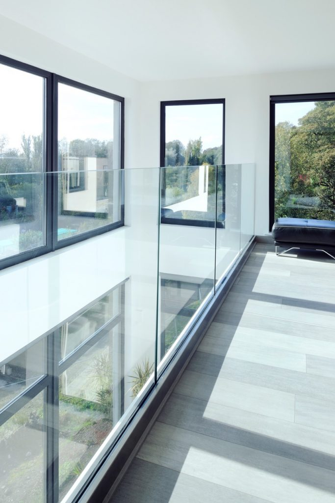 architectural frameless interior