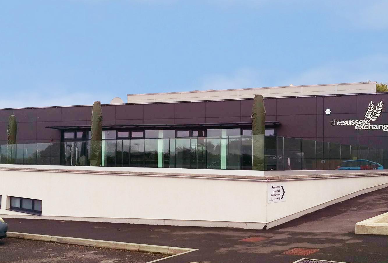 UK glass balustrade