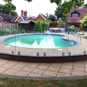 SHS Products - Stainless Steel Clarion Glass Balustrade Swimming Pool Fencing