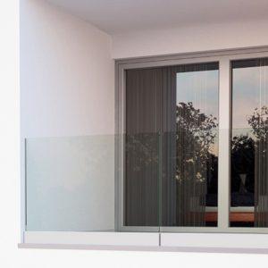SHS Products - Afina Aluminium Glass Balustrade