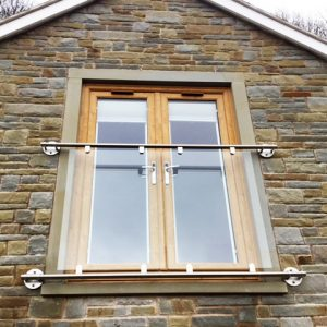 SHS Products Professional Glass Juliet Balcony