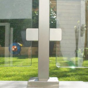 SHS Products - Stainless Steel and Glass Square Tube Balustrade