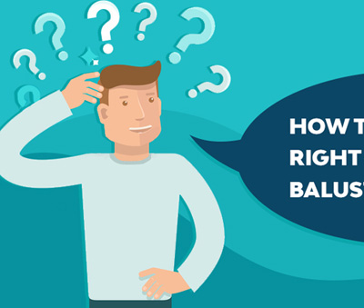 How To Choose The Right Balustrade - Infographic