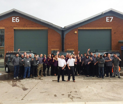 SHS Products Celebrate 10 Years and Expand Warehouse