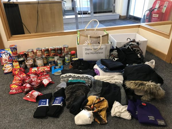 SHS Supports Local Homeless Charity Outreach Angels