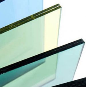 15.5mm Thick Laminated Glass Panel (Sqr Spigot)