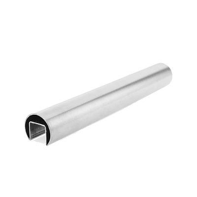 Frameless Glass Balustrade - Slotted Handrail (3m)