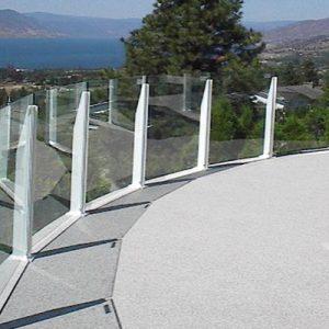 Infinity Glass Balustrade (1m)