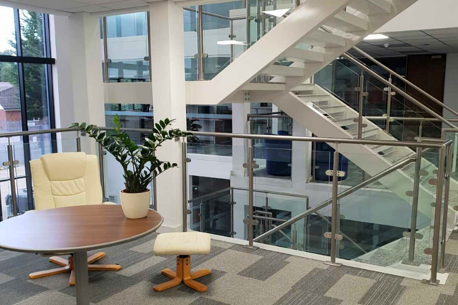 The advantages of installing glass balustrades in commercial buildings