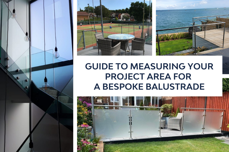 SHS Guide to measuring your project area for a bespoke balustrade