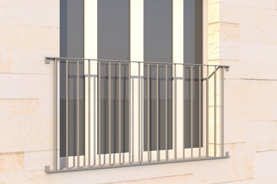 The benefits of steel Juliet balconies